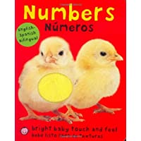Bright Baby Bilingual Touch & Feel: Numbers: English-Spanish Bilingual (Brigh...