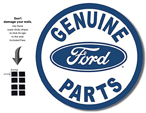 Retro Parts Ford - Shop72 - Tin Sign Ford Parts Vintage Tin Sign Retro Metal Sign