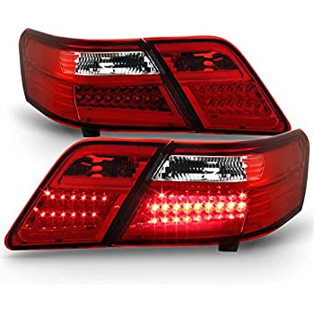 Amazon Com For Black 2007 2008 2009 Toyota Camry Led Tail