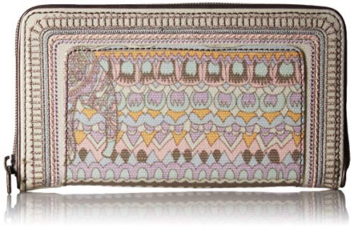 Sakroots Unisex-adults Large Zip Around Wallet, Pastel for sale  Delivered anywhere in USA