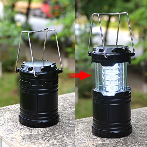 1 Pc Immaculate Popular 60LM LED Nightlight Camping Light Portable Lamp Ultra Bright Color Black
