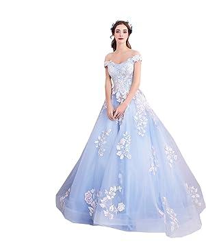 Amazon.co.jp: 双肩 結婚式 披露宴ドレス パーティードレス