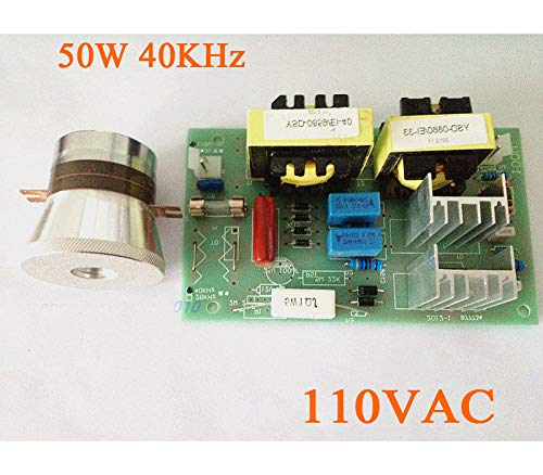 Westsell AC 110V 50W 40KHz Ultrasonic Cleaning Transducer Cleaner + Power Driver Board