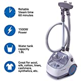 PurSteam Elite Garment Steamer, Heavy Duty Powerful Fabric Steamer with Fabric Brush