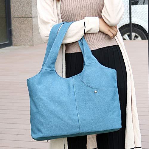 superiore borse borse delle di tela della delle a tracolla a della delle Tote borsa tracolla Manyipmaniglia borsa donne della C con bf7g6Yvy