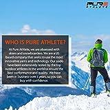 Pure Athlete Elite Ski Socks – Lightweight Merino
