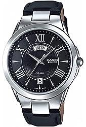 Casio Men's BEM130L-1A Beside Black Watch