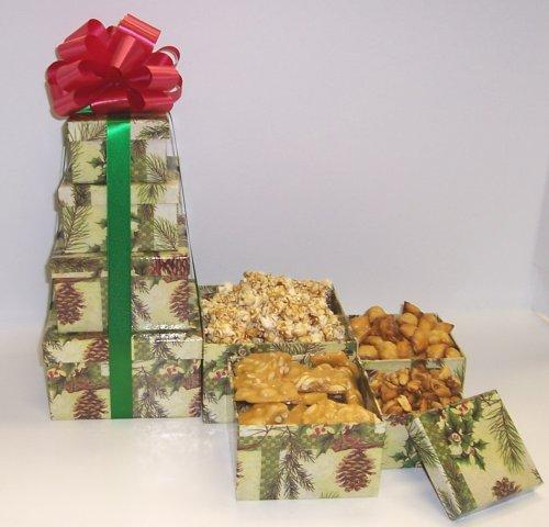 Scott's Cakes 4 Tier Pine Cone Box Peanut Lovers Surprise