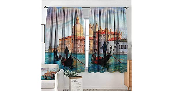 PriceTextile Venecia, Cortinas Personalizadas con diseño de Puente ...