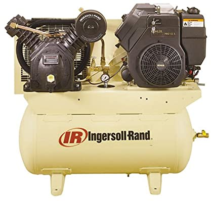 Ingersoll-Rand C2475F12.5G Type-30 Two-Stage 12.5 HP Gas-Driven Air Compressor - Stacked Tank Air Compressors - Amazon.com