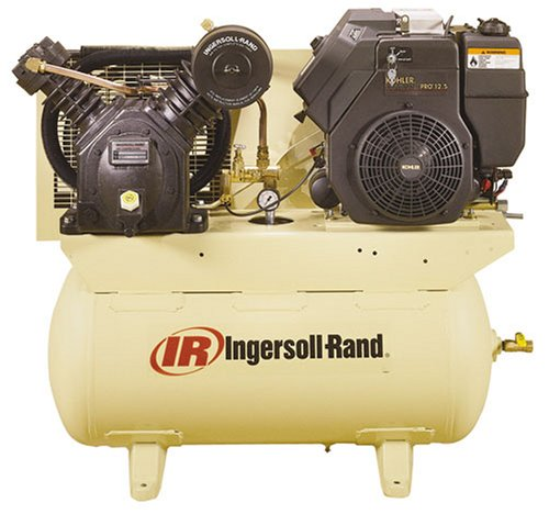 Ingersoll-Rand C2475F12.5G Type-30 Two-Stage 12.5 HP Gas-Driven Air Compressor