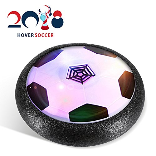 Kid Toy,Air Powered Electric Soccer Football with LED Light and Foam Bumpers Sports Toys Boys Girls Pets for Indoor Outdoor Activities Toys Holiday Birthday Gift 51Waanqy 2BqL