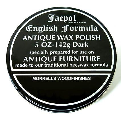 Jacpol Beeswax English Formula Antique Furniture Wax Polish – Dark 5oz 142g  (dark - 420g - Amazon.com : Jacpol Beeswax English Formula Antique Furniture Wax