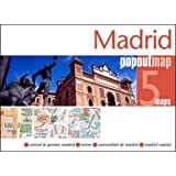 Madrid Popout Map - handy pocket size pop-up city map of Madrid; includes a metro map (PopOut Maps)