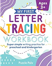 My First Letter Tracing Workbook: Super Simple Writing Practice for Preschool and Kindergarten