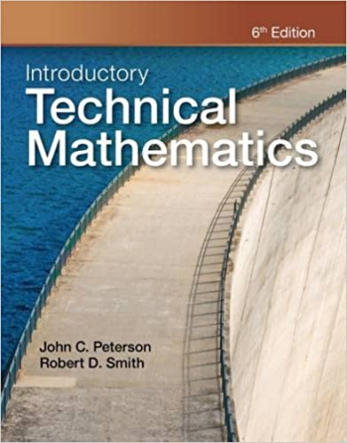 Introductory Technical Mathematics: John Peterson, Robert D. Smith ...