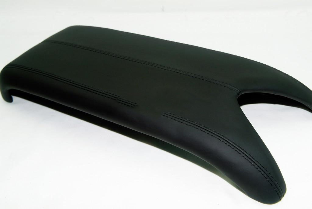 Acura RDX Center Console Lid Armrest Cover Real Leather Black (Leather Part Only) DSV
