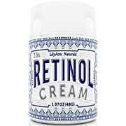 Amazon Lightning Deal 89% claimed: Retinol Cream Moisturizer for Face and Eyes, Use Day and Night - for Anti Aging, Acne, Wrinkles - made with Natural and Organic Ingredients - 1.07 OZ