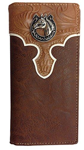 Horse Wallet Western Bifold W031 15