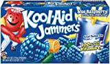 Kool-Aid Blue Raspberry Jammers, 10-Count, 6-Ounce Pouches (Pack of 4)
