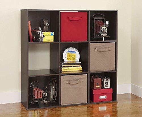 ClosetMaid 8937 Cubeicals Organizer, 9-Cube, Espresso