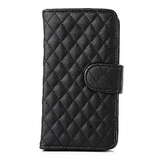 [해외]아이폰 6 플러스 아이폰 6S 플러스 5.5 내장형 포켓 + 그리드 패턴 디자인 디자인, 아이폰 6+ 아이폰 6S + 파우치 스탠드/inShang Case for Apple iPhone 6 Plus iPhone 6S Plus 5.5  with Convenient Build-in Pocket+Grid Pattern design design, ...