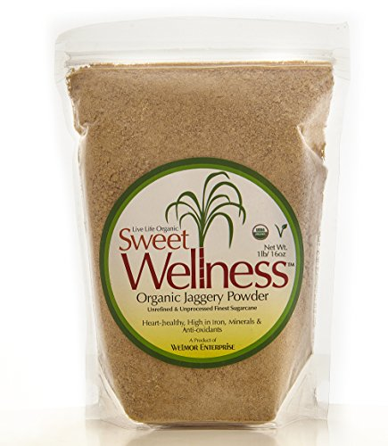 Sweet Wellness 1lb Organic Jaggery Powder
