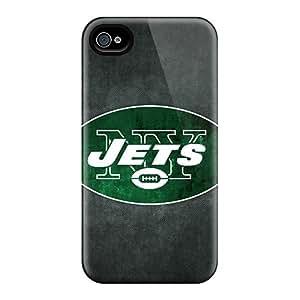KennethKaczmarek Iphone 6 Great Hard Cell-phone Case Allow Personal Design Realistic New York Jets Skin [cIE16223lYla]