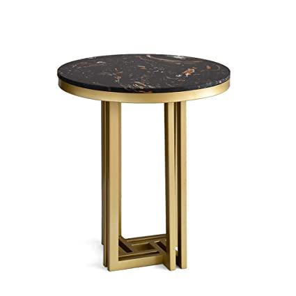Sidetable 50 Cm.Amazon Com Nordic Luxury Marble Side Table Tea Table