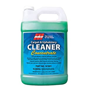 malco upholstery carpet cleaner concentrate 1 gallon automotive. Black Bedroom Furniture Sets. Home Design Ideas