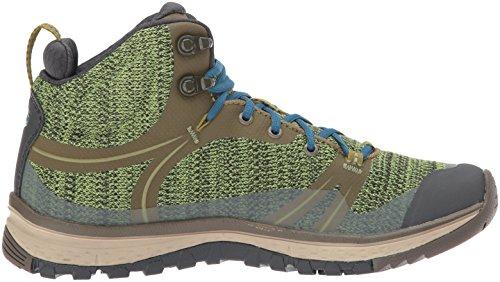Hiking Womens Mid w Dark KEEN WP Terradora Blue Shoe Olive Coral 4UqwCX