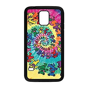 Printed Grateful Dead Theme Customized Back Protective Diy For Touch 5 Case Cover _Black 30604