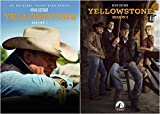 Yellowstone Complete Series DVD Seasons 1-2 Collection Bundle (8-Disc)