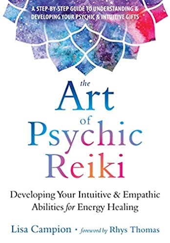 amazon com the art of psychic reiki developing your intuitive and rh amazon com