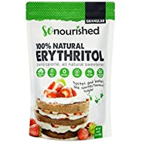 Erythritol Sweetener Granular (1.14 KG / 40 OZ) - No Calorie Sweetener, Non-GMO, Natural Sugar Substitute (2.5 Pounds)