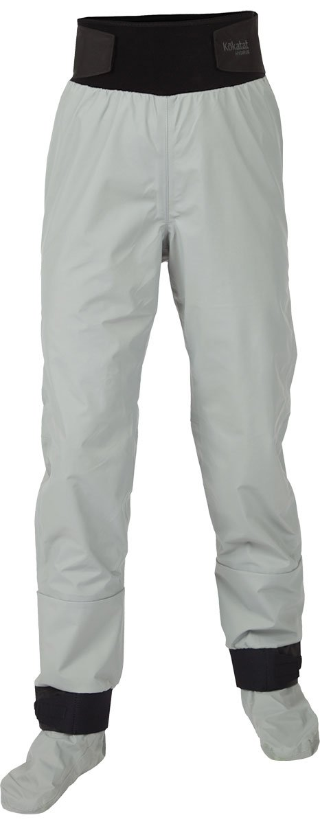 Kokatat Women's Hydrus Tempest Pants w/ Socks-LightGray-S by Kokatat