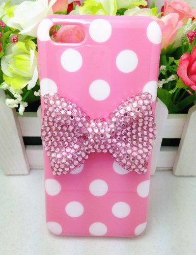 pink bear ipod 4 case - 7