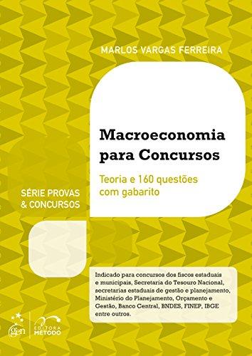 Macroeconomia Para Concursos - Série Provas e Concursos