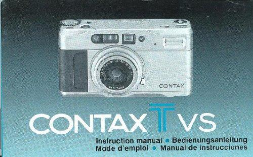 Tv Contax - Contax T VS Original Instruction Manual (Contax TVS)