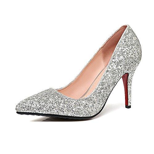 Talon Paillettes Très Femmes Haut Chaussures Fait Les Bien Mariage FWvRfx1