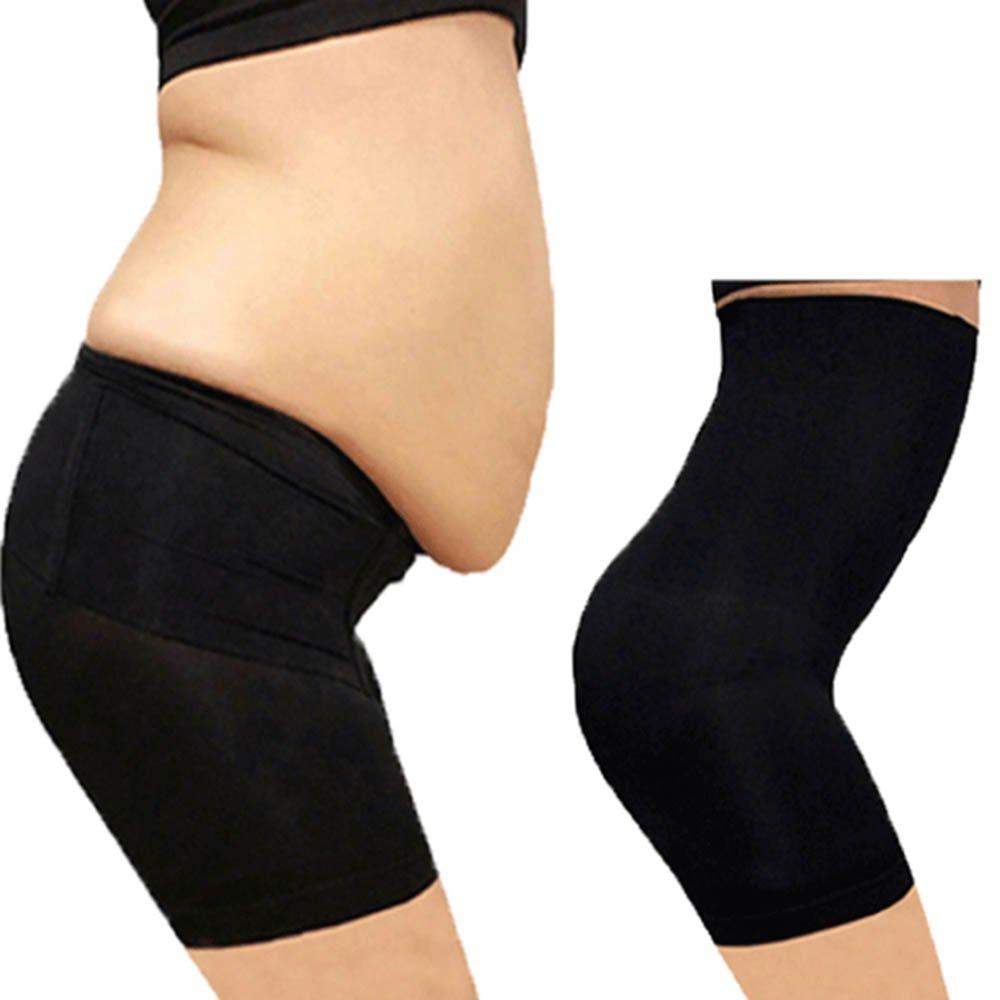 Body Shapewear High Waist Tummy Control Waist Trainer for Women Black XXL ming
