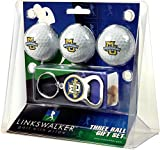 NCAA Marquette Golden Eagles - 3 Ball Gift Pack with Key Chain Bottle Opener