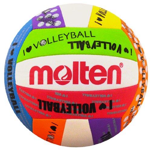 """Molten """"LOVE"""" Volleyball, Neon"""
