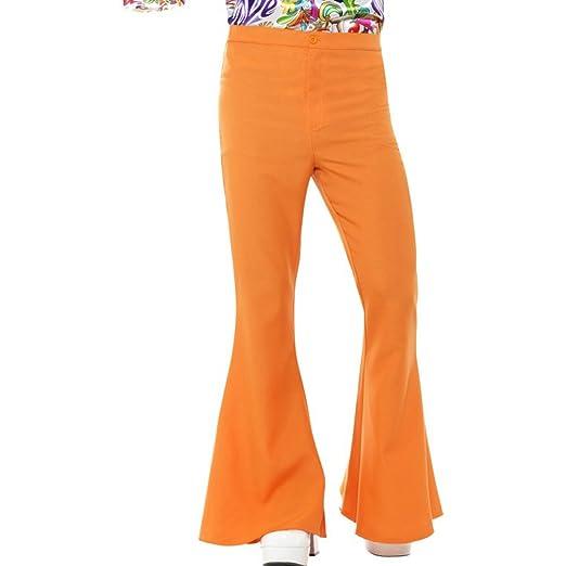 Smiffys Smiffys-44906M Pantalones Acampanados años 60, para ...