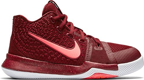 NIKE Kyrie 3 (Preschool) Team red/hot Punch-White (12 M US Little Kid)