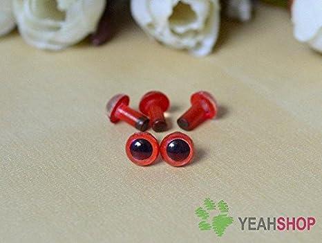 Amazon.com: 100pcs 6-12mm Black Plastic Safety Eyes for Bear, Doll ...   351x466