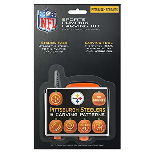 NFL Pittsburgh Steelers Pumpkin Carving Kit]()