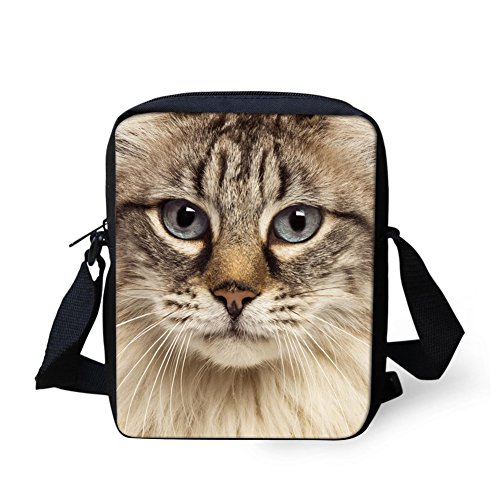 Carlin bandoulière Carlin Coloranimal chat Sac Ftaqw0
