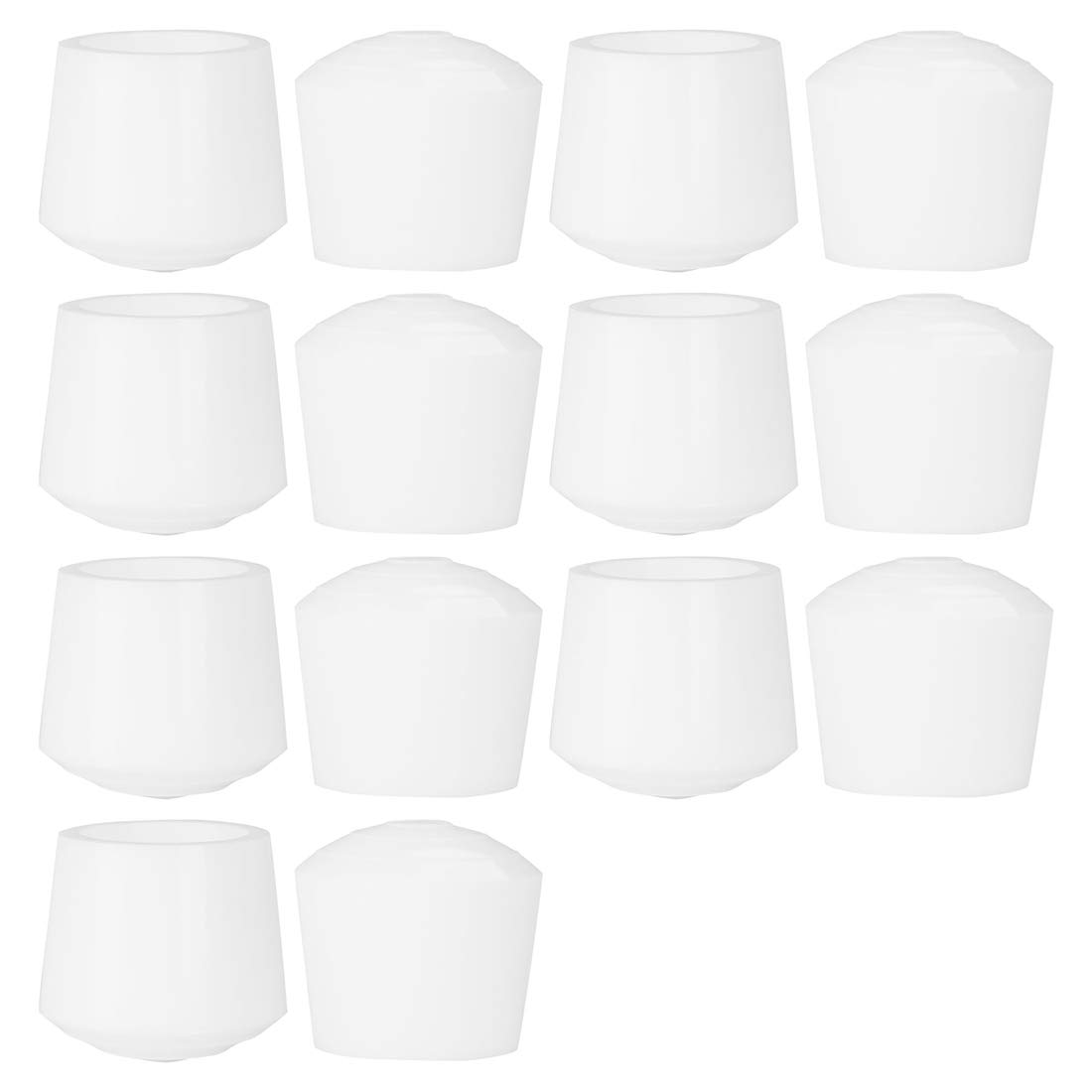 uxcell 14pcs Leg Caps Tips 35mm 1 3/8 Inch Anti Slip Rubber Furniture Table Feet Cover Floor Protector Reduce Noise Prevent Scratches