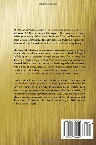 reflections essays on the bhagavad gita a scripture neil dev  reflections essays on the bhagavad gita a scripture neil dev grove 9781535606349 com books